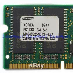 Samsung 256MB PC133 133Mhz 144pin SDRAM Sodimm Laptop Memory Ram NON-ECC