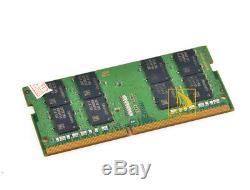 Samsung 2X 16GB 2RX8 DDR4 2400MHz PC4-19200 SODIMM 260 pin Laptop Memory RAM 1#1