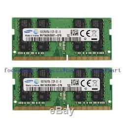 Samsung 32GB 2X16GB DDR4 2133 PC4-2133P PC4-17000 1.2V SODIMM Laptop Memory Ram