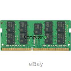 Samsung 32GB 2X16GB PC4-19200 DDR4-2400Mhz 1.2v ECC SO-DIMM Laptop Memory Ram
