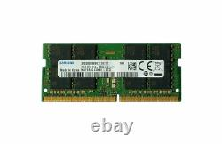 Samsung 32GB DDR4 PC4-21300 2666MHZ 260 PIN SODIMM 1.2V CL 19 laptop ram memory