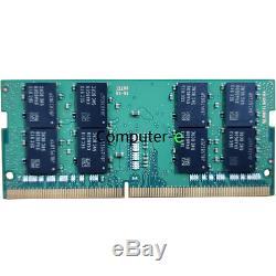 Samsung 32GB KIT 2X16GB PC4-19200 DDR4-2400MHZ 260Pin SO-DIMM Laptop Memory Ram