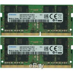 Samsung 64GB KIT 2X32GB PC4-21300 DDR4-2666Mhz 1.2v SO-DIMM Laptop Memory Ram