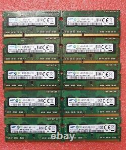 Samsung Job Lot 10x4GB DDR3 PC3-12800S 1600MHz SODIMM Laptop RAM Memory 204pin