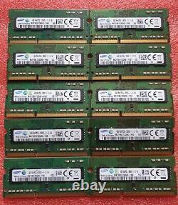 Samsung Job Lot 10x4GB DDR3 PC3L-12800S 1600MHz SODIMM Laptop RAM Memory 204pin
