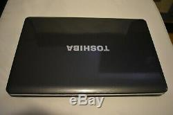 Toshiba L550 Dual Core T6500 @ 2.1 GHz 4GB Ram Memory 256GB SSD HDD